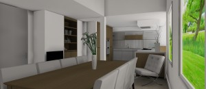Interieurarchitect Stefanie Coninx 3D modern Project  S 8